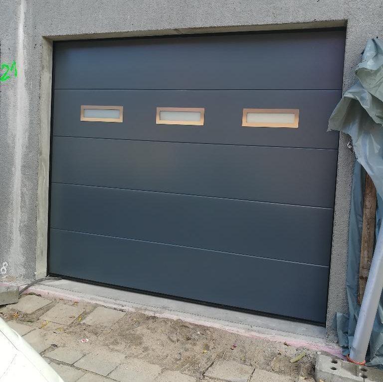 garagentor eingebaut